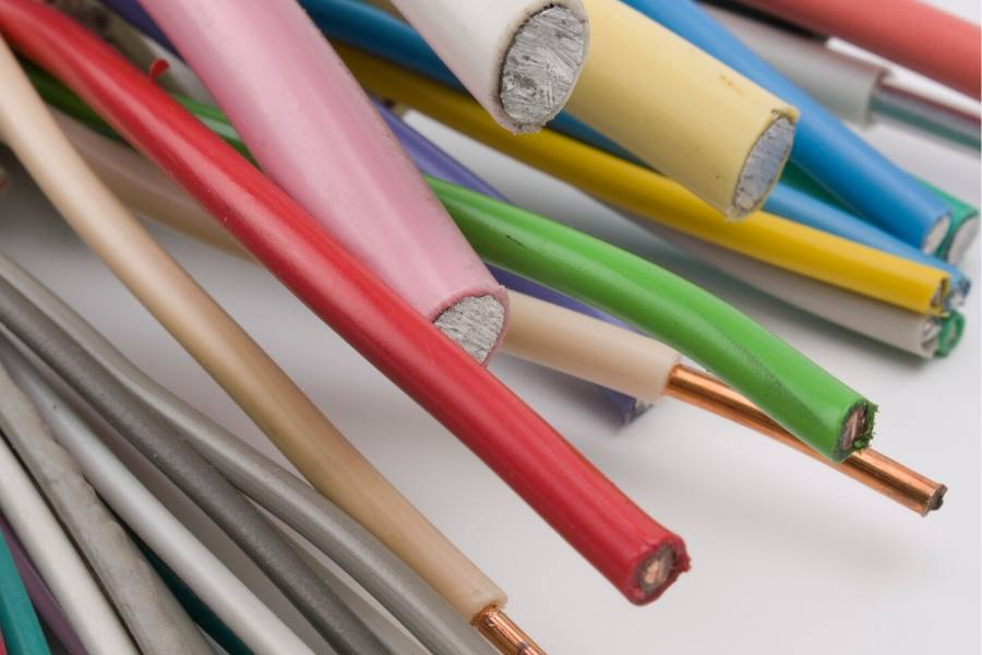 Label your cables or get colored ones for home theater wiring organization.