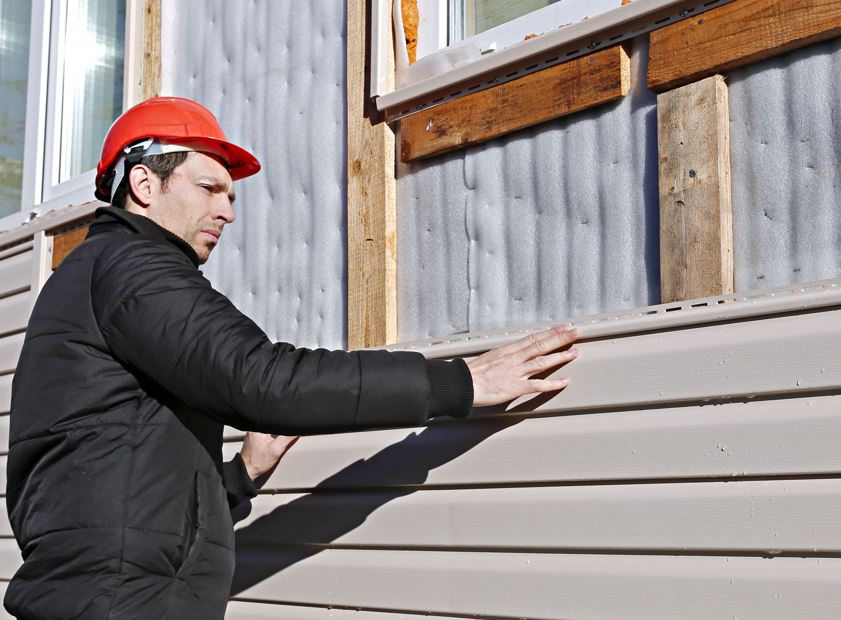 Make sure to hire professional siding installers.